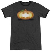 Batman - Bat Pumpkin Logo Adult Heather Officially Licensed T-Shirt Short Sleeve - $23.99+