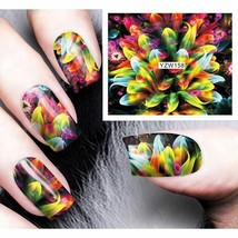 Gam-Belle® 8 Designs Abstract Image Nail Art Wrap Foil Stickers Decals T... - $2.94
