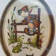 Crewel Stitchery Kit Paragon Needlecraft Hummel Spring Frog Vintage 1979... - $7.91