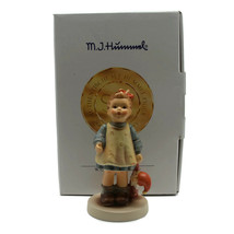 Goebel Hummel Club Fascination #1035 Girl Figurine Signed In Original Box - $42.03