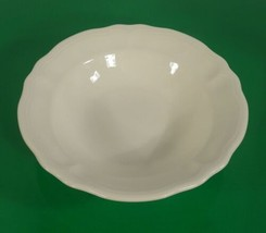 Federalist Ironstone White Round Vegetable Serving Bowl 4238 - $24.70