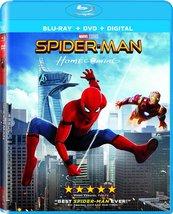 Spider-Man: Homecoming [Blu-ray+DVD+Digital] (2017)
