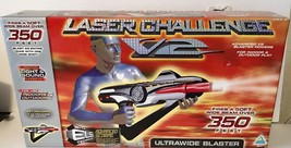 LASER CHALLENGE V2 ULTRAWIDE BLASTER 80614 TOYMAX Vintage 1998 - New In Box - $39.94