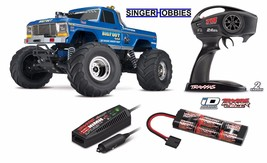 Traxxas BIGFOOT Classic 1/10 Scale RTR R/C Monster Truck Blue TRA360341 HH - $239.95