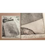 ROBERT VAN BUSKIRK Signed Lithograph Etching California Modern Art Colla... - $186.64