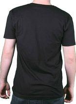 I Love You But I've Chosen Dubstep Mens Black V-Neck T-Shirt image 3