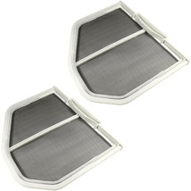 2-Pack HQRP Dryer Lint Screen Filter Catcher fits Whirlpool W10120998 W1... - $20.45