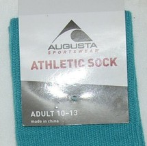 Augusta Sportswear Athletic Sock Adult 10 To 13 Knee Length Tube Sock image 2
