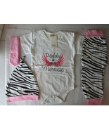 Kids Tales 3 piece set toddler girls 12-24 months Outfit - $16.69