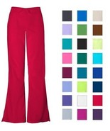 Women's Flare Leg Scrub Cargo Pants DSF Medical Uniform 400 - $11.98