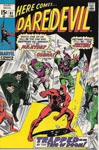 Daredevil Comic Book #61 Marvel Comics 1970 VERY FINE - $25.07