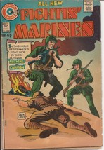 Charlton Fightin' Marines #115 Nothing In Common The Enemies War Battleground   - $2.95