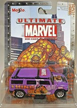 2003 Maisto Ultimate Marvel Die-Cast Series 1 #17/25 THING HUMMER H3 SUV... - $10.05