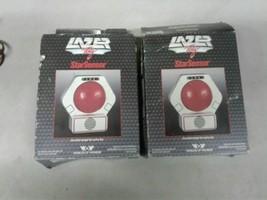 Vintage Lazer Laser Tag Star Sensor 1986 World Of Wonder New NOS Pair (d... - $46.74