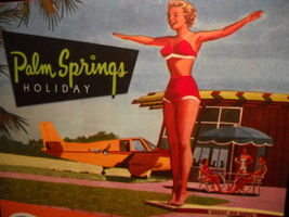 Gibbs Smith Jigsaw Puzzle 2014 Peter Moruzzi Palm Springs Holiday Sealed... - $12.99