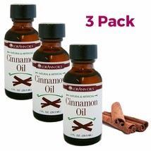 LorAnn Flavoring Oils, Cinnamon Oil, 1-Ounce Bottles (Pack of 3) - $28.46