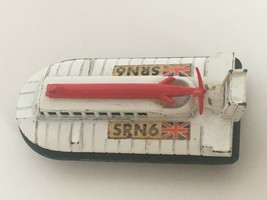 Lesney Matchbox Superfast Hovercraft SRN6 Diecast Toy 1972 White No. 72 British - $5.99