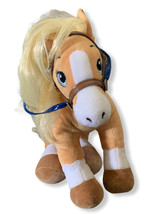 "Build A Bear Horses & Hearts Palomino 18"" Plush Limited Edition Tan - $28.04"