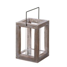 Outdoor Lanterns For Candles, Wooden Outdoor Patio Candle Lanterns - $25.99