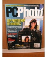 PCPhoto Magazine July/August 2007 Top Photoshop Techniq - $8.99