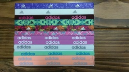 New Unisex Adidas Running 12 Piece Set HEADBANDS Adidas Logo All Sport #6 - $40.00