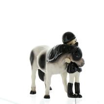 Hagen Renaker Specialty Horse Girl with Pinto Pony Ceramic Figurine image 10