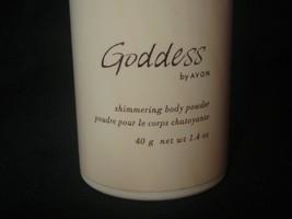 Avon Goddess perfumed shimmering body powder 1.4 oz sealed shaker 2004 - $6.92