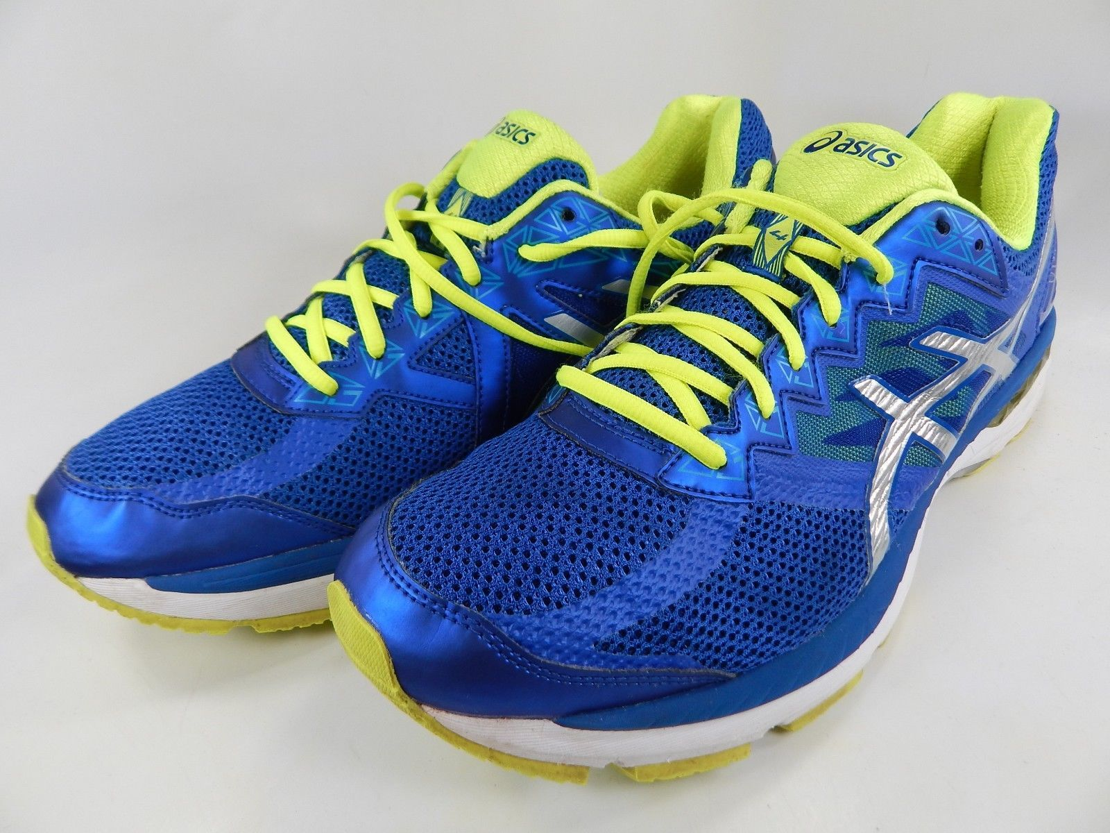 Asics GT 2000 v 4 Size US 12.5 M (D) EU 47 Men's Running Shoes Blue T606N