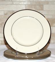 Lenox Montclair Presidential * 3  SALAD PLATES * Platinum, 2nd Qlty, Exc... - $19.79