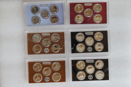 2010-2012 Amer. the beautiful $0.25 Proof coin sets, 5 clad & 5 silver/year image 2