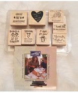 Business Memos Stampin Up 1999 Bring a Friend Special Offer Hostess Rubb... - $14.68