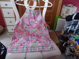 Vera Bradley Little girl's apron in Pinwheel Pink pattern - $14.00