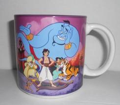 Disney Aladdin Jasmine Genie Jafar Abu Coffee Tea Mug Ceramic Cup 12 Oz Rare - $9.04
