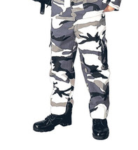 Kids Boys City Snow Camo Police Military Style BDU Airsoft Pants Fatigues - $18.80+