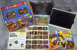 Vintage•Original•1967•1st Edition•Hasbro•Lite-Brite•Complete+Extra•Works... - $99.99