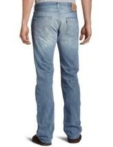 NEW LEVI'S 501 MEN'S ORIGINAL FIT STRAIGHT LEG JEANS BUTTON FLY BLUE 501-0537 image 2