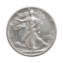 1942 S Walking Liberty Half Dollar - Gem BU / MS / UNC - $47.00