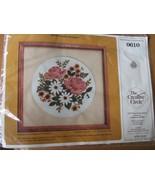 Creative Circle Kit 0610 - Classic Bouquet, Vtg. 1984, Printed Fabric, W... - $9.97