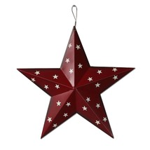 Americana Patriotic Barn Metal 3D Stars Wall Decor July 4th Decor Holida... - £9.81 GBP
