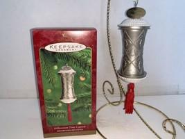 Hallmark Keepsake Ornament Millennium Time Capsule 2000 - $7.50