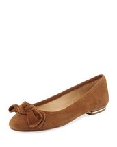 MICHAEL Michael Kors Willa Suede Ballerina Flat Size 5.5 - $99.99