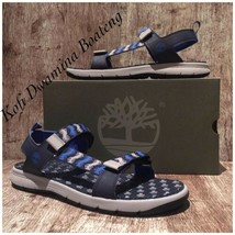Timberland Men Governor Island Backstrap Sandals A1UVC251 NAVY Synthetic... - $55.17
