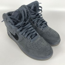 Nike Air Force 1 High '07 Basketball Mens Shoes 10 Blue Black 315121 415 image 1