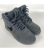 Nike Air Force 1 High '07 Basketball Mens Shoes 10 Blue Black 315121 415 - $48.51