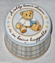Cherished Teddies Sailor Round Trinket Box Teddy Bears Charm Huggable 85... - $15.95