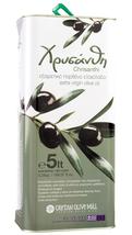 Chrisanthi Premium Extra Virgin Olive Oil Koroneiki variety 5Lt Island o... - $95.70