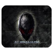 Mouse Pad Alienware Logo Black Design American Computer Hardware Animation - $6.00