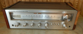 Pioneer SX-450 Receiver Works Needs Cleaning - $264.58