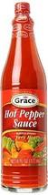 Grace Hot Pepper Sauce Very Hot Sauce 6 fl oz - $18.00
