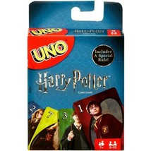 UNO Harry Potter Themed Card Game for 2-10 Players Ages 7Y+ - $5.93
